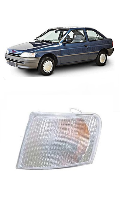 Lanterna Dianteira Pisca Escort Sapão 1993 1994 1995 1996 Cristal