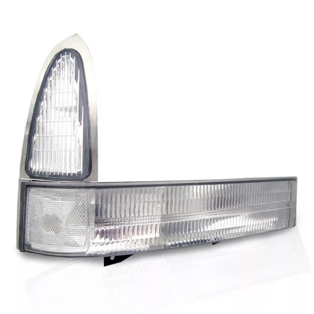 Lanterna Dianteira Pisca F250 F350 F4000 1999 2000 2001 2002 2003 2004 2005 Cristal