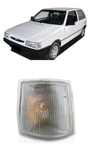 Lanterna Dianteira Pisca Fiat Uno 1991 a 2003 Cristal Original