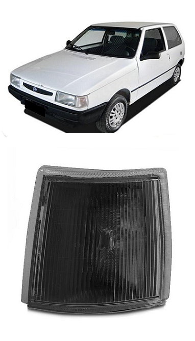 Lanterna Dianteira Pisca Fiat Uno 1991 a 2003 Fume