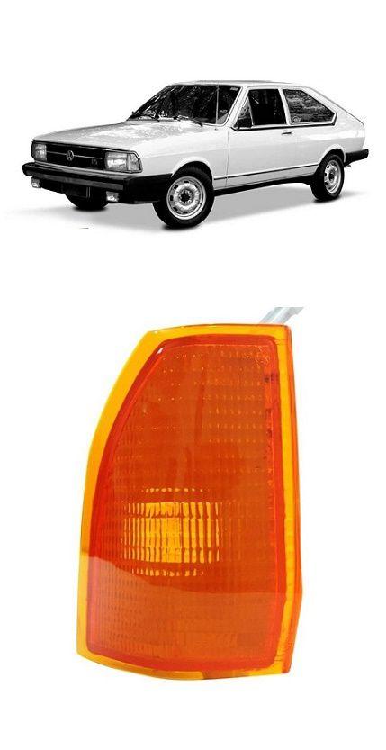 Lanterna Dianteira Pisca Passat 1979 1980 1981 1982 Ambar