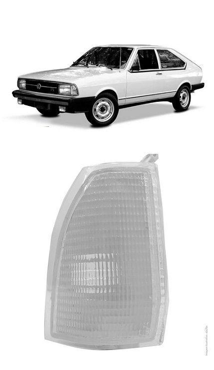 Lanterna Dianteira Pisca Passat 1979 1980 1981 1982 Cristal