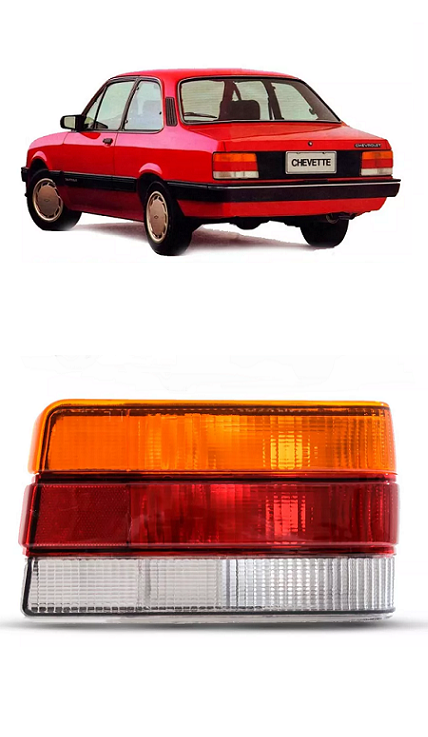 Lanterna Traseira Chevette 1987 1988 1989 1990 1991 1992 1993 1994