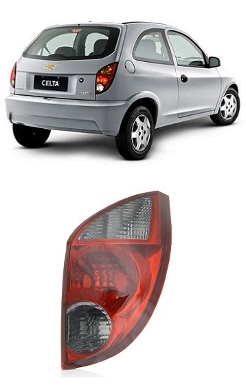 Lanterna Traseira Chevrolet Celta 2007 2008 2009 2010 2011 2012 Fumê