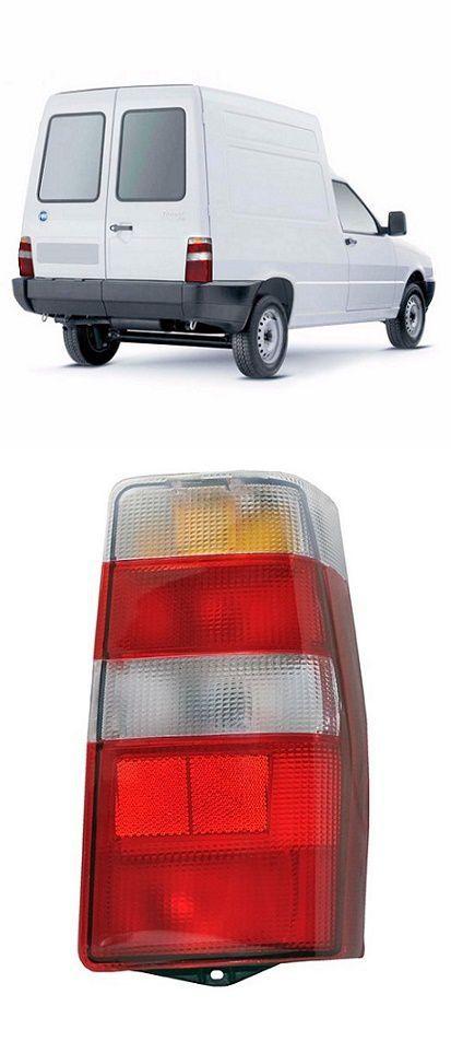 Lanterna Traseira Fiat Fiorino 2004 a 2013 Bicolor