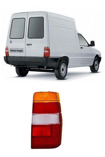 Lanterna Traseira Fiat Fiorino e Elba 1986 a 1997