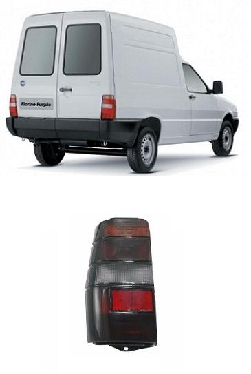 Lanterna Traseira Fiat Fiorino e Elba 1986 a 1997 Fumê