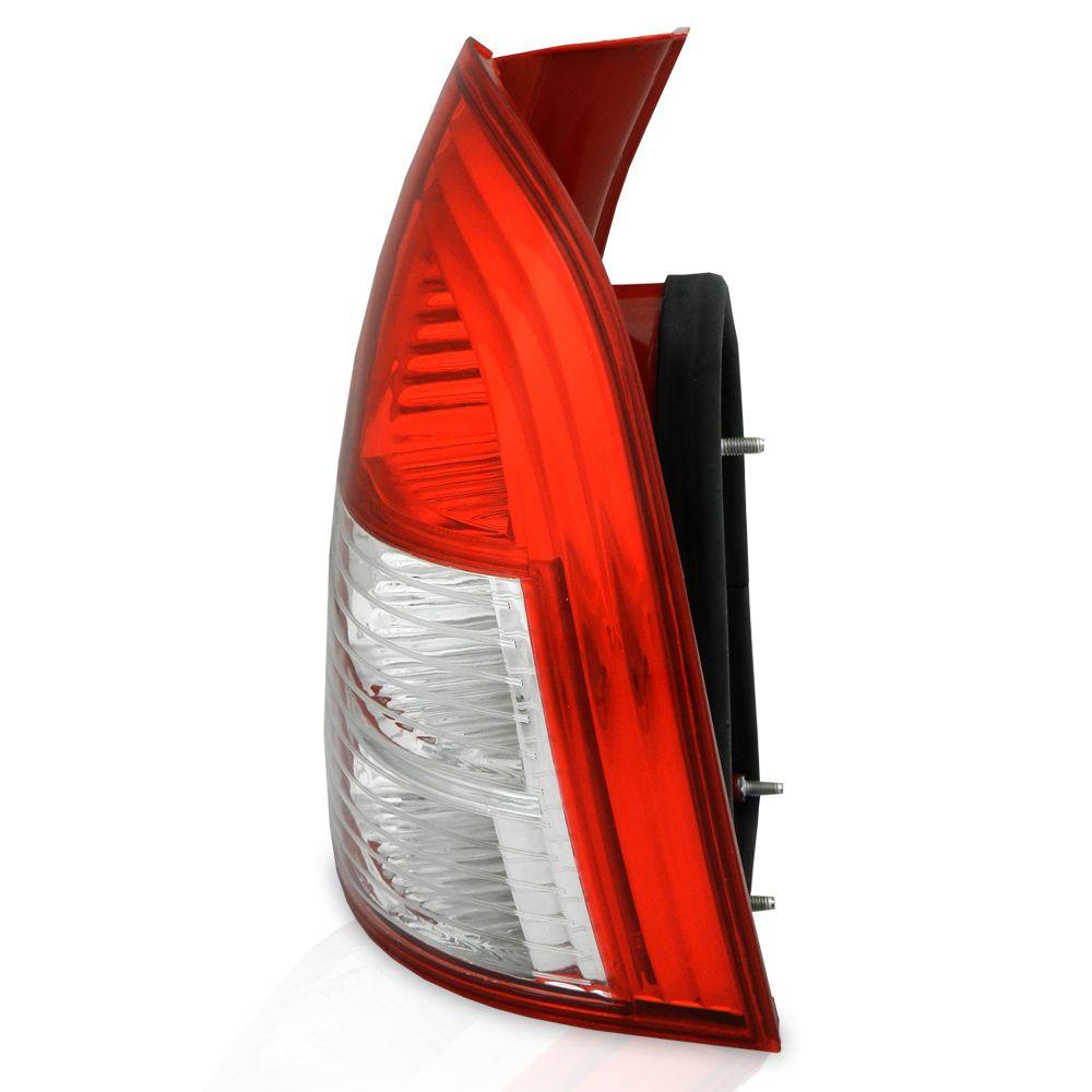 Lanterna Traseira Fiat Palio Weekend 2004 2005 2006 2007 2008 Modelo da Lateral