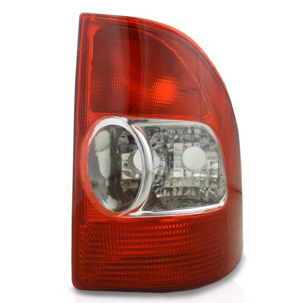 Lanterna Traseira Fiat Strada 2001 2002 2003 2004 Bicolor