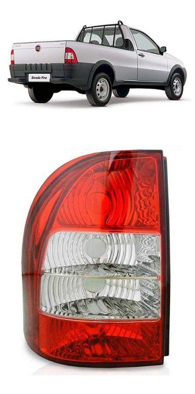 Lanterna Traseira Fiat Strada 2005 2006 2007 2008