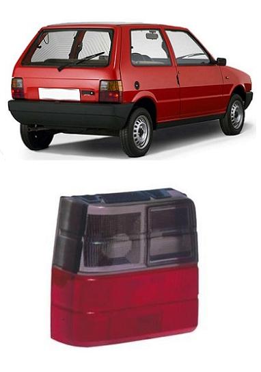 Lanterna Traseira Fiat Uno 1984 a 2004 Fumê