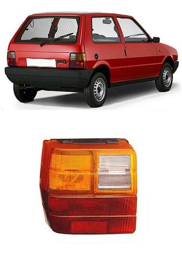 Lanterna Traseira Fiat Uno 1984 a 2004 Tricolor