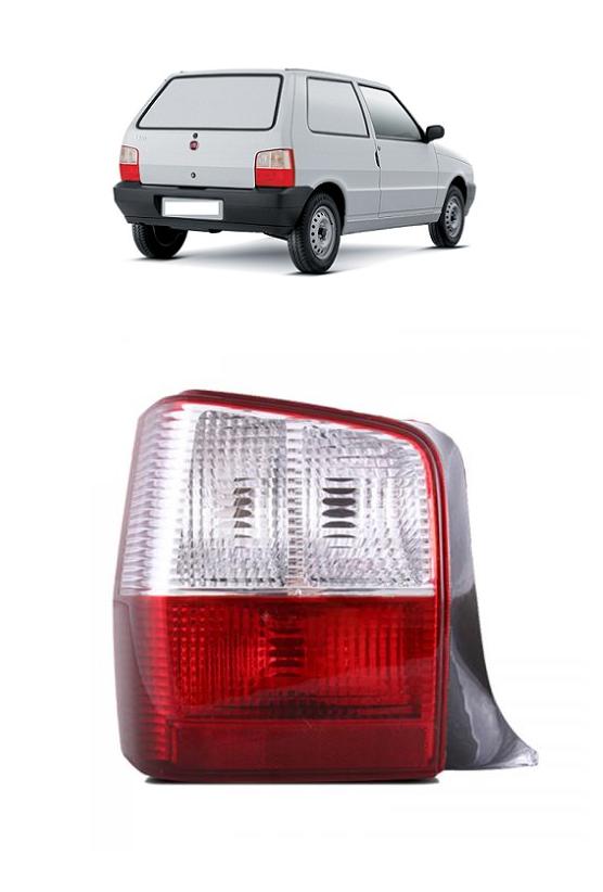 Lanterna Traseira Fiat Uno 2004 2005 2006 2007 2008 2009 2010 Bicolor