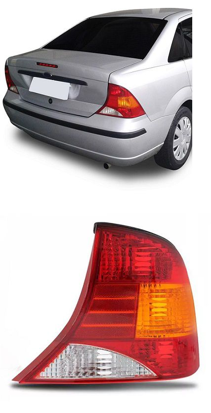 Lanterna Traseira Focus 1999 2000 2001 2002 2003 2004 2005 2006 2007 2008 Sedan