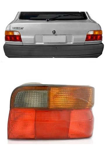 Lanterna Traseira Ford Escort 1993 1994 1995 1996 Fumê