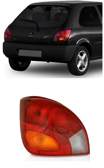 Lanterna Traseira Ford Fiesta 1996 1997 1998 1999 2000 2001