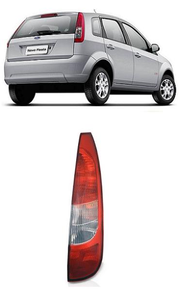 Lanterna Traseira Ford Fiesta 2003 2004 2005 2006 Hatch