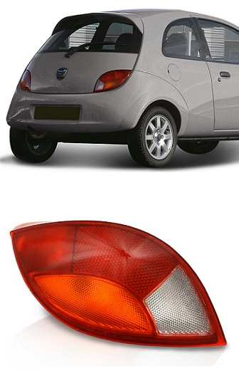 Lanterna Traseira Ford Ka 1997 1998 1999 2000 2001 Tricolor
