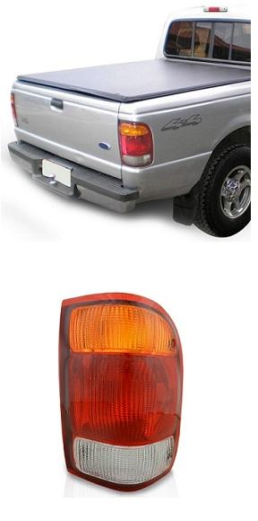Lanterna Traseira Ford Ranger 1998 1999 2000 2001 2002 2003 2004 Tricolor