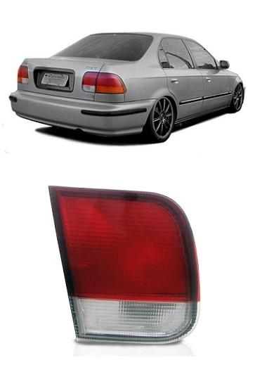 Lanterna Traseira Honda Civic 1996 1997 1998 Modelo da Tampa
