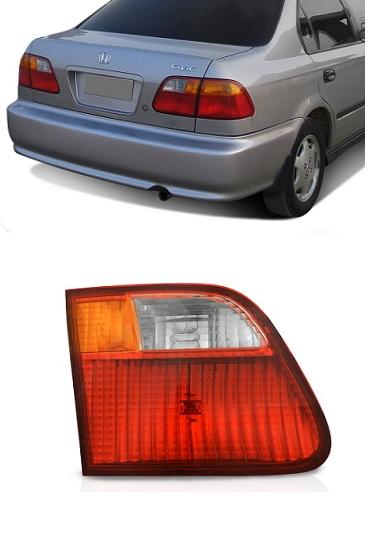 Lanterna Traseira Honda Civic 1999 2000 Modelo da Tampa