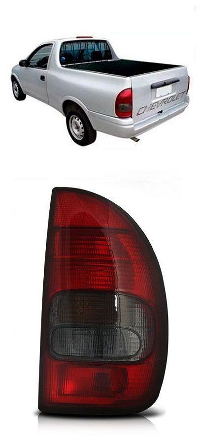Lanterna Traseira Pickup Corsa 1994 1995 1996 1997 1998 1999 Fumê