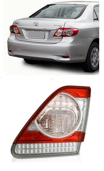 Lanterna Traseira Toyota Corolla 2012 2013 2014 Modelo da Tampa