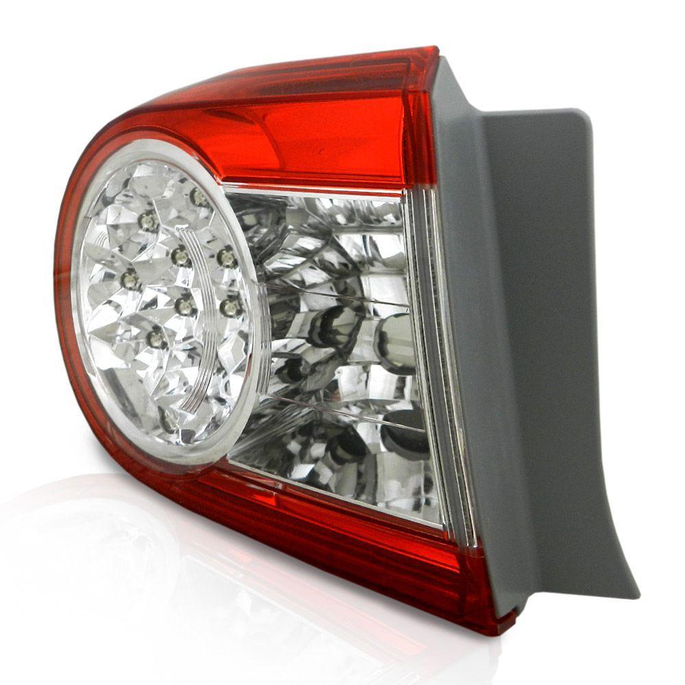 Lanterna Traseira Toyota Corolla 2012 2013 2014 Modelo Lateral com Led
