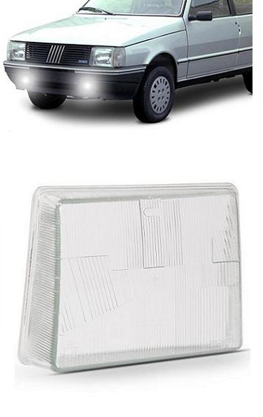Lente Farol Fiat Uno 1985 1986 1987 1988 1989 1990