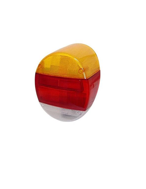 Lente Lanterna Traseira Fusca Fafa Tricolor