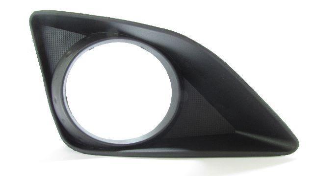 Moldura Grade do Farol de Milha Corolla 2009 2010 2011 Com Furo