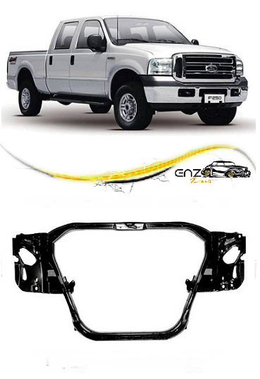 Painel Frontal F250 F350 1999 2000 2001 2002 2003 2004 2005 2006 2007 2008 2009 2010 2011 2012 2013 2014 Lata