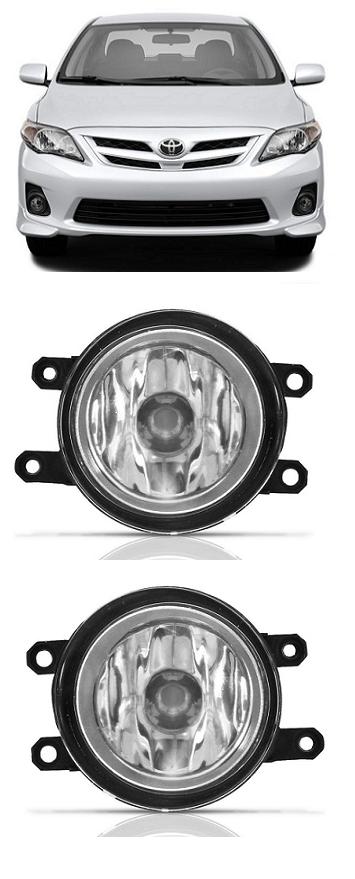 Par Farol De Milha Auxiliar Toyota Corolla 2012 2013 2014