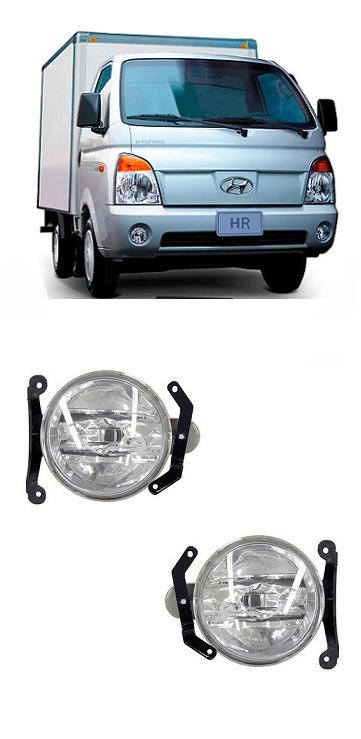 Par Farol de Milha Hyundai HR 2005 2006 2007 2008 2009 2010 2011 2012
