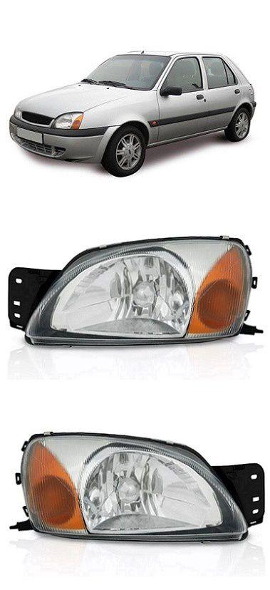 Par Farol Ford Fiesta 2000 a 2007 Courier 2000 a 2013 Pisca Ambar
