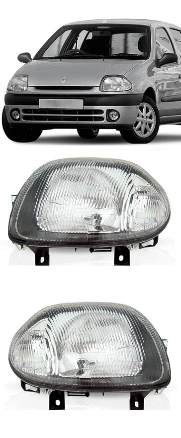 Par Farol Renault Clio 2000 2001 2002