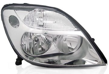 Par Farol Renault Scenic 2001 2002 2003 2004 2005 2006 2007 2008 2009 Cromado