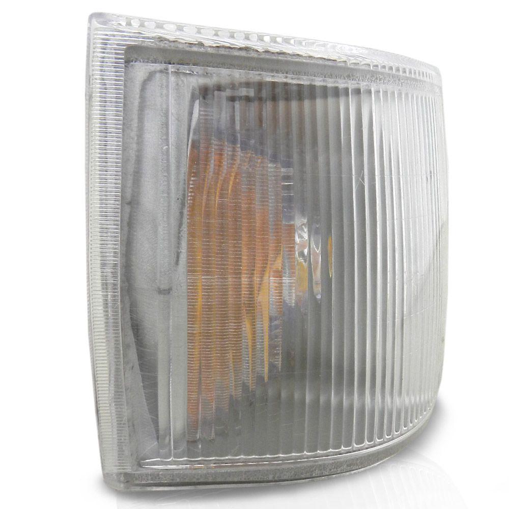Par Lanterna Dianteira Pisca Fiat Uno 1991 a 2003 Cristal Original