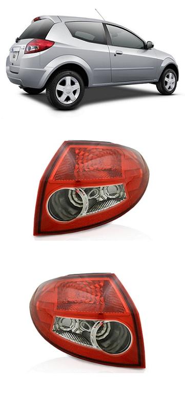 Par Lanterna Traseira Ford Ka 2008 2009 2010 2011Par
