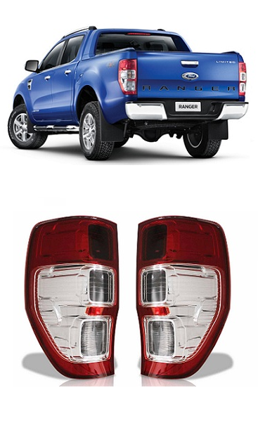 Par Lanterna Traseira Ford Ranger 2013 2014 2015