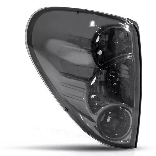 Par Lanterna Traseira L200 Triton 2007 a 2015 Fume