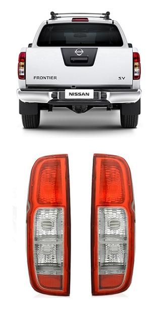 Par Lanterna Traseira Nissan Frontier SEL 2008 2009 2010 2011 2012 2013 2014