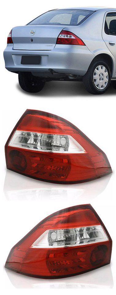 Par Lanterna Traseira Prisma 2007 2008 2009 2010 2011 2012