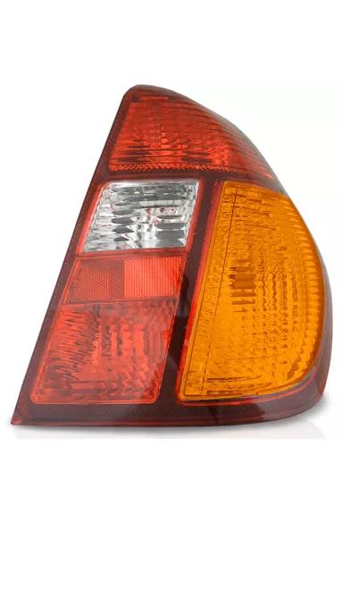 Par Lanterna Traseira Renault Clio 2000 2001 2002