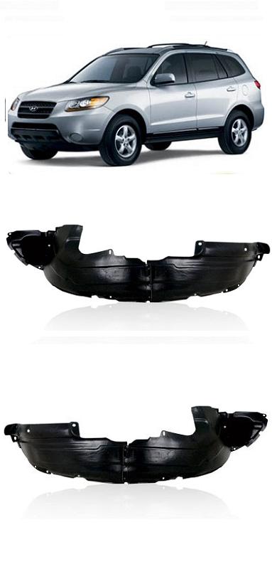 Par Parabarro Dianteiro Hyundai Santa Fé 2007 2008 2009 2010