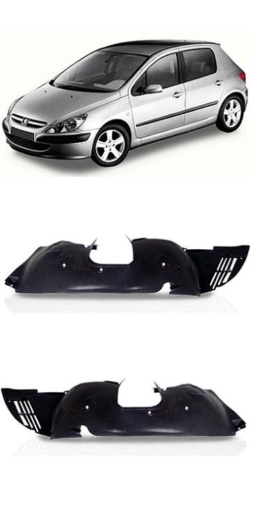 Par Parabarro Dianteiro Peugeot 307 2002 2003 2004 2005 2006