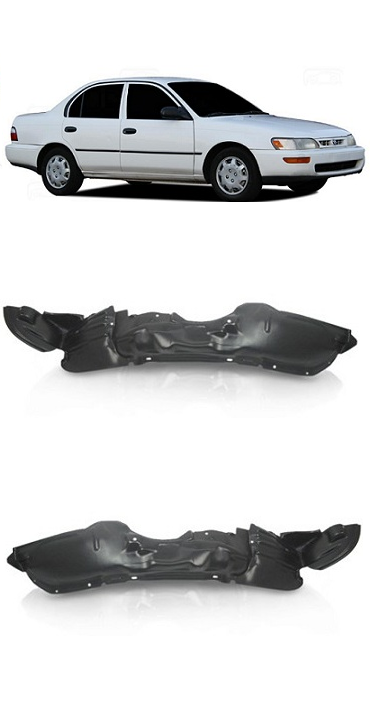 Par Parabarro Dianteiro Toyota Corolla 1995 1996 1997