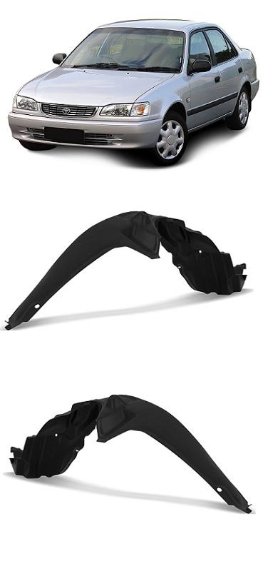 Par Parabarro Dianteiro Toyota Corolla 1998 1999 2000 2001 2002