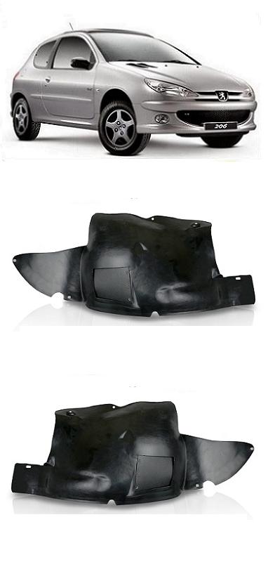 Par Parabarro Peugeot 206 1999 a 2011 Parte Dianteira