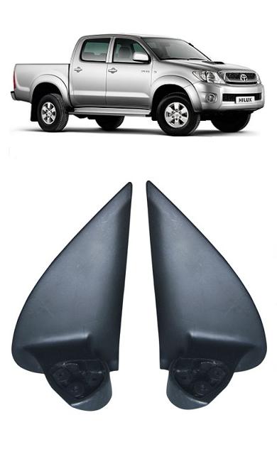 Par Pé Retrovisor Hilux SRV e SW4 2005 a 2011